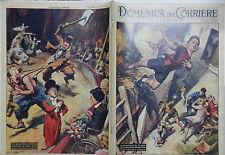 LA DOMENICA DEL CORRIERE 11 ottobre 1959 Brugherio Storia di Mina Circo Hervay