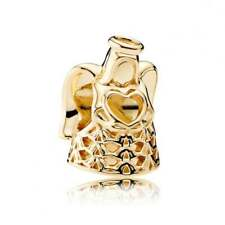 Authentic PANDORA 14k Gold Angel of Grace Charm 750999
