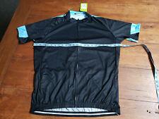New Cycling Jersey XXXL Black Blue Green NWT Top Short Sleeve