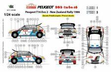 Voitures miniatures 1:24 Peugeot