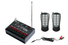 2 Mode 12 Cue Fireworks Wireless Firing System MS12QS-FCC/CE /Looking for agents