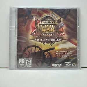PC Game AGEODS AMERICAN CIVIL WAR The Blue & The Gray 2008 Release