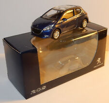 Peugeot 208 3p gris Norev 3 Inches 1/64