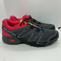 Salomon Speedcross Vario Womens Trail Running Athletic Training Shoes Size 10