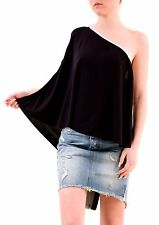 Free People Women's Authentic Relaxed You Are The One Top Black Combo £78 BCF75