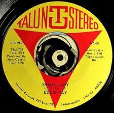 Eddie Ray 45 Rare Indiana Pop Psych Shady Lady The Sign clean VG+ Talun