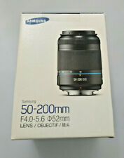 Samsung NX 50-200mm OIS Lens F4.0-5.6 In Original Box With Lens Caps