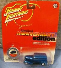 NIB JOHNNY LIGHTNING 10TH ANNIVERSARY / 1938 FORD DELIVERY TRUCK W/COIN 13/20