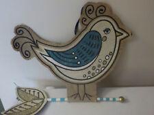 "Silvestri Jute Fabulous Bird Partridge, Burlap Wall Decor, hanging, about 15x16"""