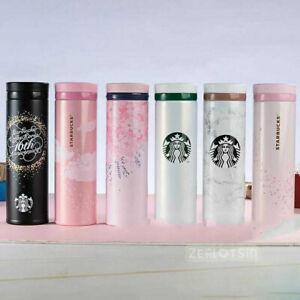 Starbucks 2020 SAKURA Thermos Stainless Steel Water Bottle 480ml Valentines Gift