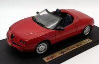 Maisto 1/18 Scale Model Car 31831 - Alfa Romeo Spider - Red