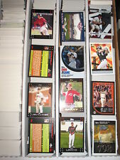 2007 Topps Red Back & Inserts Large Baseball Card Lot Approximately 1103 Cards