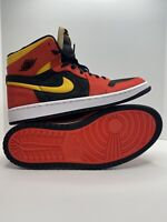Pre-Owned | Jordan 1 Zoom Air CMFT Chile Red Black Yellow Size 12 Condition 9/10