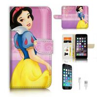 ( For iPhone 7 Plus ) Wallet Case Cover P6219 Snow White
