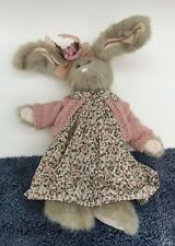 """Bearington Collection Bunny Rabbit Charlotte with original dress 16"""" Very Clean"""