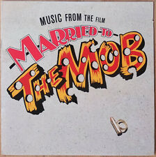 Married To The Mob 1988 NM Soundtrack Record Brian Eno New Order Chris Isaak