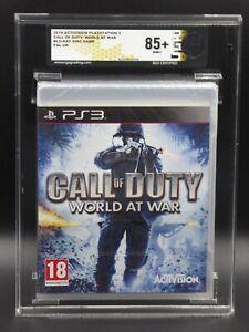 Playstation 3 Call of Duty World at War - RGS Grading 85+ NM+ wie VGA sealed