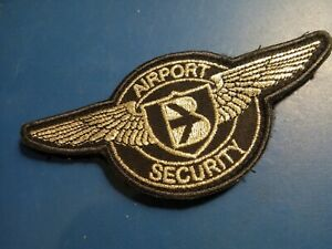 Airport Security aviation Patch unknown