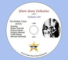 "DVD ""The Stolen Voice"" (1915) Robert Warwick,Frances Nelson,Classic Silent Drama"