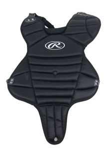 Rawlings Llbp-1 Little League Chest Protector Baseball Catcher Black Ages 9-12
