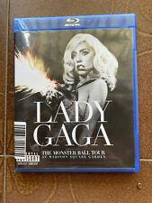 Lady Gaga Blu-ray Disk : The Monster Ball Tour -  Al Madison Square - Autografo