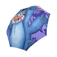 Lilo And Stitch Auto Foldable Rain Outdoor Umbrella