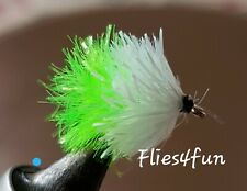 10 Booby Fishing Flies 5 x Biscuit 5 x Biscuitman Trout Flies Size 10 Or 12
