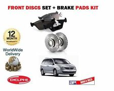 FOR CITROEN C8  2.0 2.0 HDi 2.2 HDi 2003-> FRONT BRAKES DISCS AND DISC PAD KIT