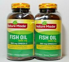 Nature Made Fish Oil 1200 mg OMEGA-3 360mg 400 Softgels