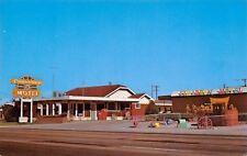 Cheyenne WY~Cimarron Motel~Wagon Wheel Playground~Coke Bottle Machine 1950s