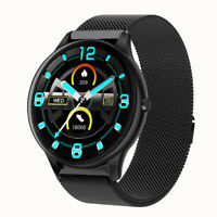 Smartwatch Körpertemperatur Messung 2.5D HD Display Android Samsung iOS iPhone