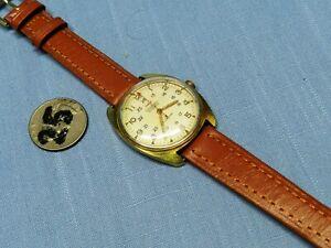 Vintage RARE SWISS Waltham 17 Jewel Self-winding Men's Watch. Unique. Working!