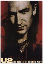 U2 RATTLE & HUM Movie POSTER 27x40 E