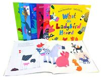 What The Ladybird Heard 8 Books Children Collection Paperback By Julia Donaldson
