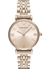 EMPORIO ARMANI Rose Gold-tone Ladies Watch AR11059