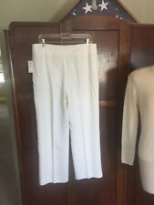ALRIS cream Acetate Sz 12 Pants