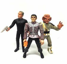 VINTAGE STAR TREK TNG prossima generazione ACTION Figure Toy LOTTO DA PLAYMATES