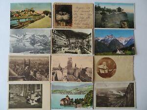 70 alte  Ansichtskarten (88)