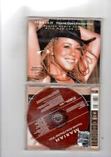 MARIAH CAREY - THANK GOD I FOUND YOU - FEATURING NAS AND JOE - CDS