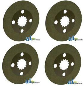 Set of 4 Brake Discs Fit Kubota BX2230 series for one side