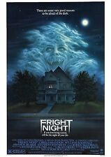 Fright Night - Roddy McDowall - A4 Laminated Mini Movie Poster