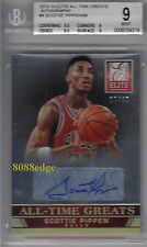 Autograph Scottie Pippen Basketball Trading Cards