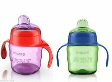 PHILIPS AVENT NO SPILL  EASY SIP SPOUT CUP 200ML/70Z 6M+ BOYS/GIRLS  BPA FREE