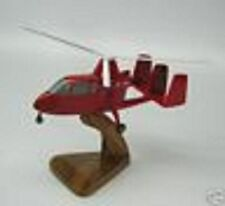 U-18 Umbaugh Gyroplane U18 Airplane Desk Wood Model Small New