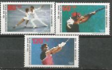 ALEMANIA BERLIN Scott# 9NB254/256 MNH set. Sin Fijasellos Olimpiada Seul 1988