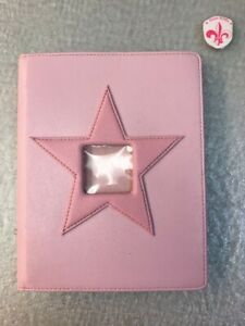 """Mary Kay """"Be A Star"""" Pink Leather 7 x 9 Photo Album"""