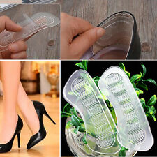 1Pair Anti-Slip High Heel Shoes Heel Back Cushions liner Shoes Grip Foot Gel Pad