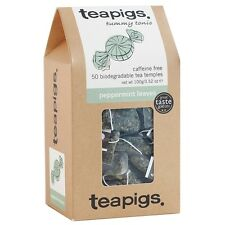 teapigs Naturellment sans caféine 50 biodégradable thé TEMPLES - Menthe Poivrée