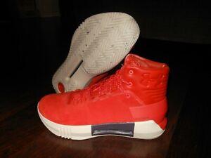 UNDER ARMOUR UA DRIVE 4 PREMIUM Basketball Shoes Size 11 US 45 EUR Orange