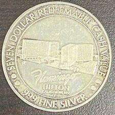 Casino Strike 999 Silver $7 Flamingo Hilton Laughlin Nevada